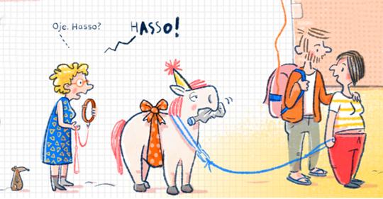 »Das Pony braucht noch einen Partyhut.« Ein Feedbackgespräch